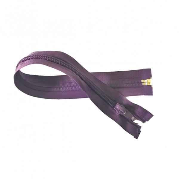 teilbarer Reißverschluss, ca.30cm, violett